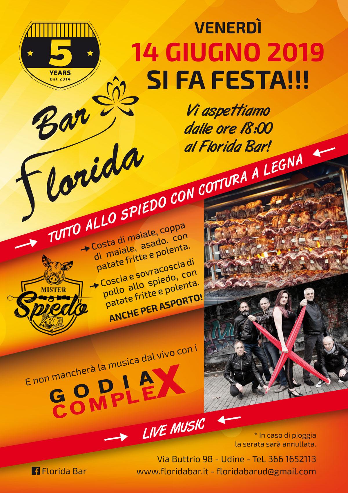 Festa al Florida Bar a Udine!